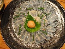 本格 江戸前寿司やふぐなど和食メニューも豊富!