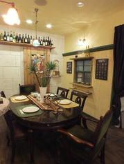 特別な日のお食事には個室もございます。