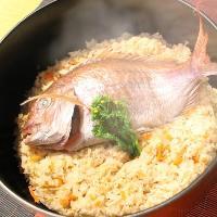 瀬戸内の天然鯛を使用した郷土料理が勢ぞろい!