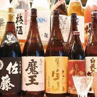 <日本酒・焼酎・梅酒> 各種豊富に取り揃えて おります♪