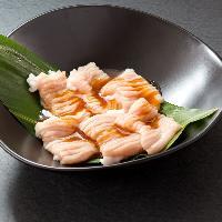 <ホルモン> 人気のホルモンは愛媛県産。プリプリ感が◎