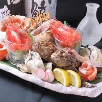 【熟練の職人が創る】 新鮮な鮮魚をさばき、手作りでご提供!