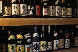 愛媛の地酒を豊富にご用意◎飲み比べがおすすめ!