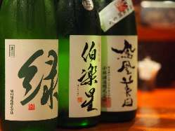 お酒は各種ご用意しております。