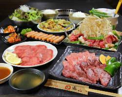 ご宴会コースで当店のお肉をたっぷり堪能!