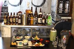 地酒をはじめ全国の日本酒をお愉しみ頂けます。