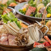 季節の創作料理で宴会♪飲み放題付コース3000円〜!