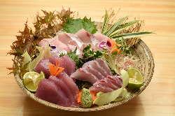 本日の魚 三種盛り