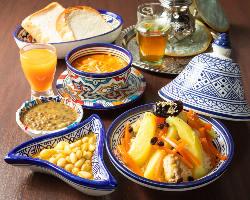 モロッコ料理はカラダにいいんです!ヘルシー志向の方必見です!
