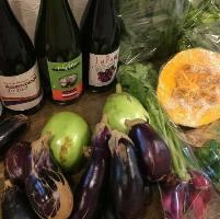 さぬき市の契約農家で採れた農薬不使用野菜を使用しています。