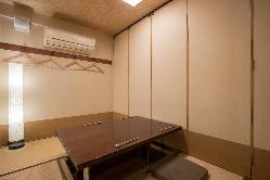 4名様迄の完全個室の 掘りごたつのお部屋