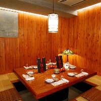 和の雰囲気あるオシャレ個室で宴会、飲み会!