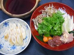 きりたんぽ鍋、しょっつる鍋 比内地鶏など秋田名物を。