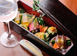 こだわりの和食をお楽しみ下さい。
