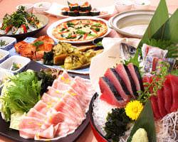 多彩な宴会コースをご用意♪ 料理2000円~ 飲み放題1200円~