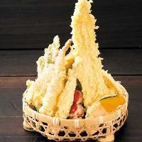 さくさく天ぷら♪米油を使用し、味わいが違います!!