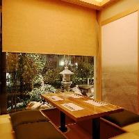 【りんどう】2名様~4名様でご利用頂ける掘り炬燵式完全個室。
