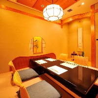 【欅の間】最大6名様までご利用頂ける掘りごたつ式完全個室。