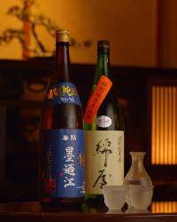 宮城の銘酒・本格焼酎を多数ご用意しております。