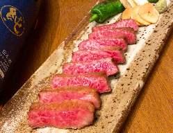仙台牛やカテキン豚、角田産合鴨ロースなど肉料理もお勧めです。