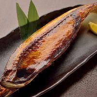 塩釜は「間宮塩蔵」の熟成干物。絶品です!