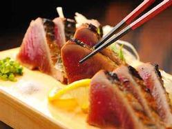 自慢の藁焼き料理をご堪能ください!