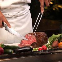 【創作料理】 フランス料理店で経験を積んだ料理長が腕を振るう