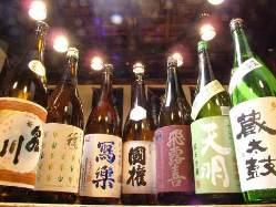 福島県の地酒にこだわって揃えております!