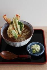 天ぷらそば 1500円