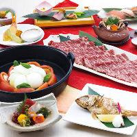 冬季限定の「雅」は1年の締めくくりにふさわしい豪華食材使用。