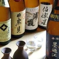 宮城の地酒と東北各県の地酒を取り揃えました。