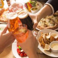 美味いビールと一緒に乾杯!!おつまみフードを多数ご用意!