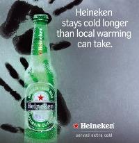 氷点下ビール!!ハイネケンエクストラコールド!!