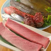 市場直送の鮮度抜群!新鮮魚介をお楽しみください!
