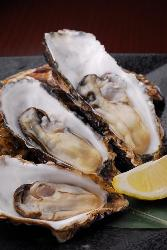 全コースに石巻産の牡蠣の酒蒸しが付きます!