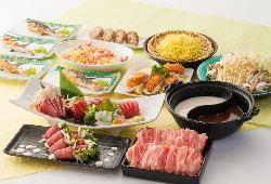 比内地鶏などの秋田名物が充実したコースをご賞味ください!
