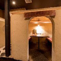 大人気のかまくら型個室など大小個室をご用意しております。