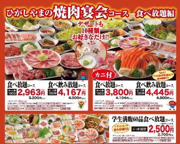 焼肉レストラン ひがしやま ザ・モール仙台長町店