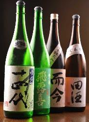 宮城をはじめ全国からこだわりの地酒を取り揃えております!