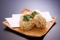 会津名物 まんじゅうの天ぷら