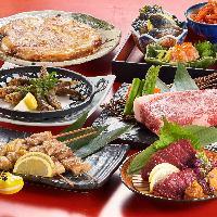 観光客の方も大歓迎♪円盤餃子や馬刺しなど福島名物が勢揃い!
