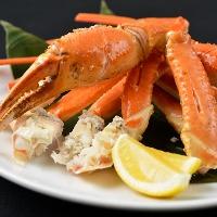 【かに】 本たらば蟹とずわい蟹豪華食べ放題!