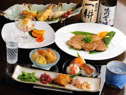 日本酒・焼酎に合うお料理もご用意致します。