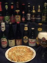 ベルギービールと餃子の相性抜群! 福島路ビールも仲間入り!