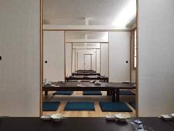 個室6室 (最大宴会人数60名)