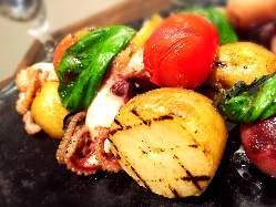 県内野菜のグリル
