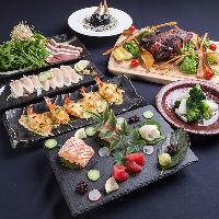 伯楽星、田酒、秋鹿や獺祭など各地地酒をご用意しております。