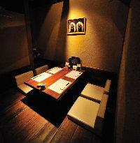 個室もあります。多種多様なお席をご用意!!(2~40名)
