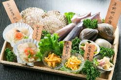 [セレクト]とびっきり新鮮な産直魚介料理をお席までお持ちします