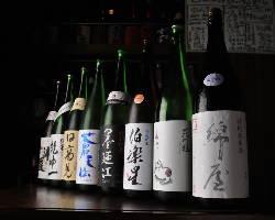 宮城の地酒・日本酒も多数ご用意しております♪
